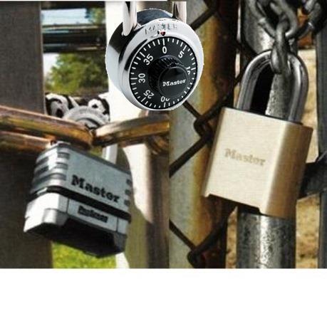 Padlocks-Combination Locks