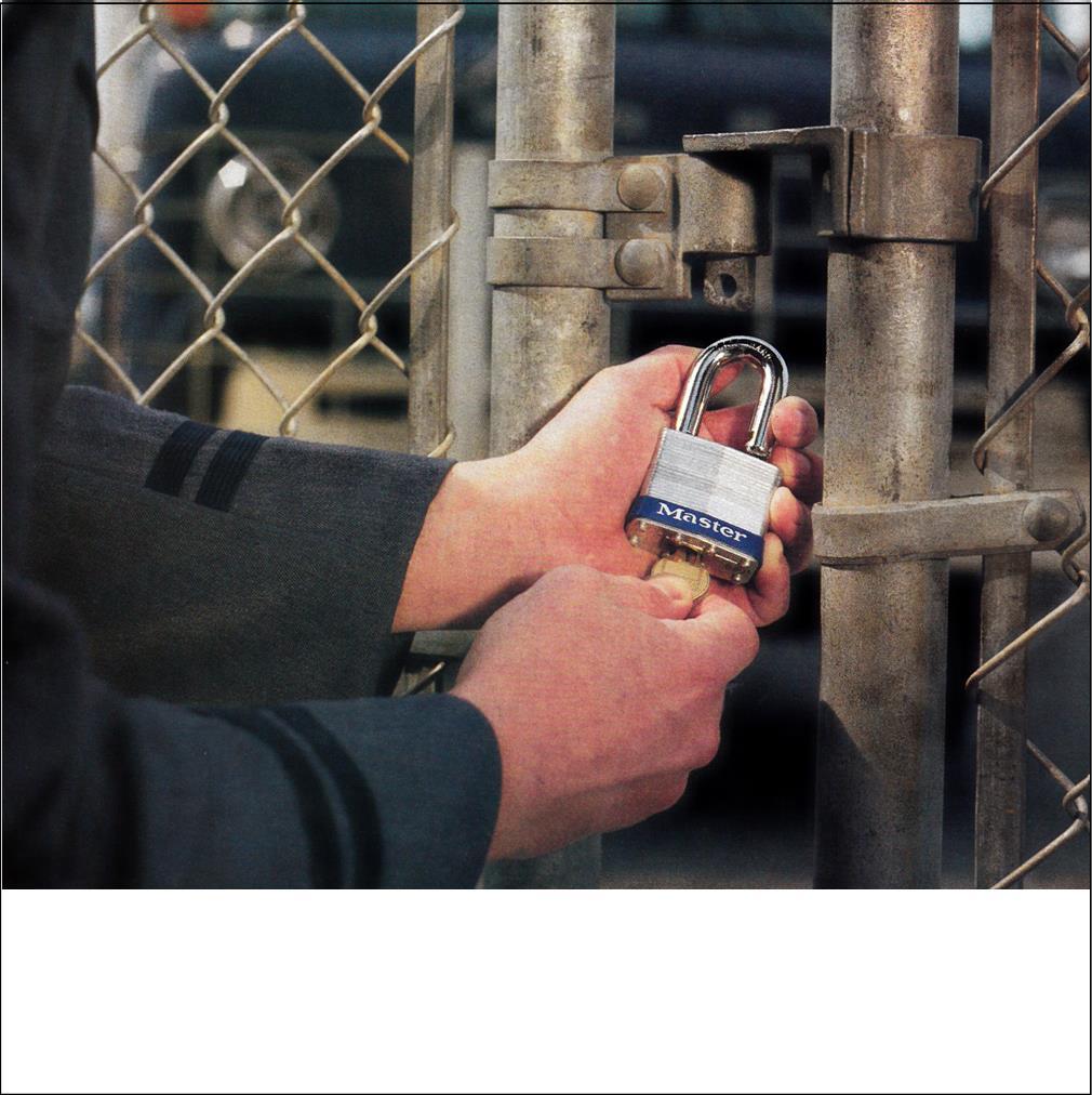 Padlocks-General Security