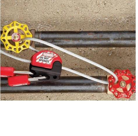 Adjustable Cable and Pneumatic Lockouts