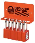 S1506 Padlock Rack holds 6 to 8 padlocks