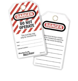 497A Safety Tags