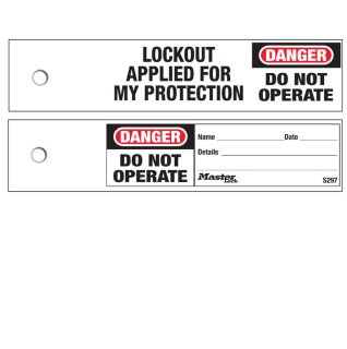Compact Lockout Tags